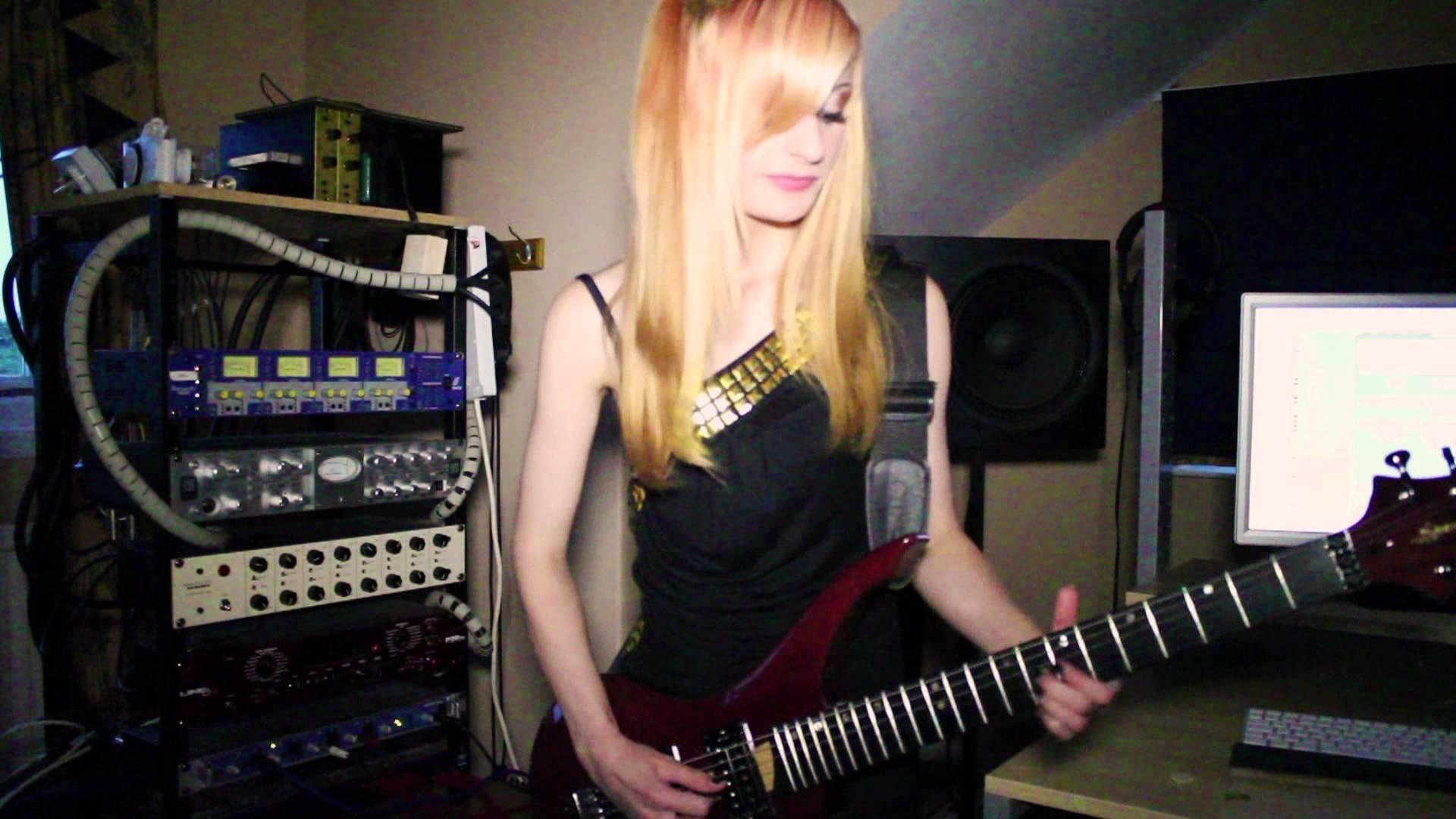 Guitar Wallpaper For Facebook Profile Girl Jjkitten Jacqueline Girl Heavy Metal Guitar Wallpaper