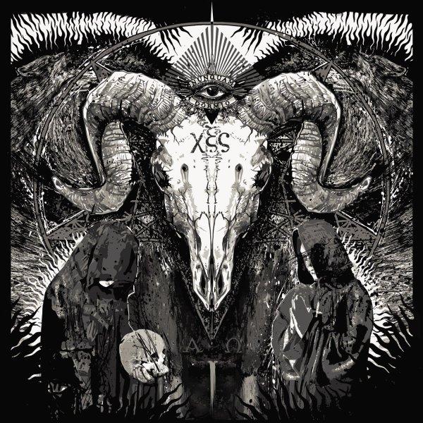 Satanic Goat Skull Art