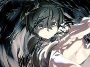 black eyes short hair anime boys