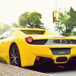 Cars Ferrari Roads Vehicles Ferrari 458 Italia Yellow Cars Wallpaper 1920x1080 337126 Wallpaperup