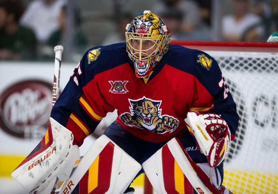 florida panthers portiere nhl