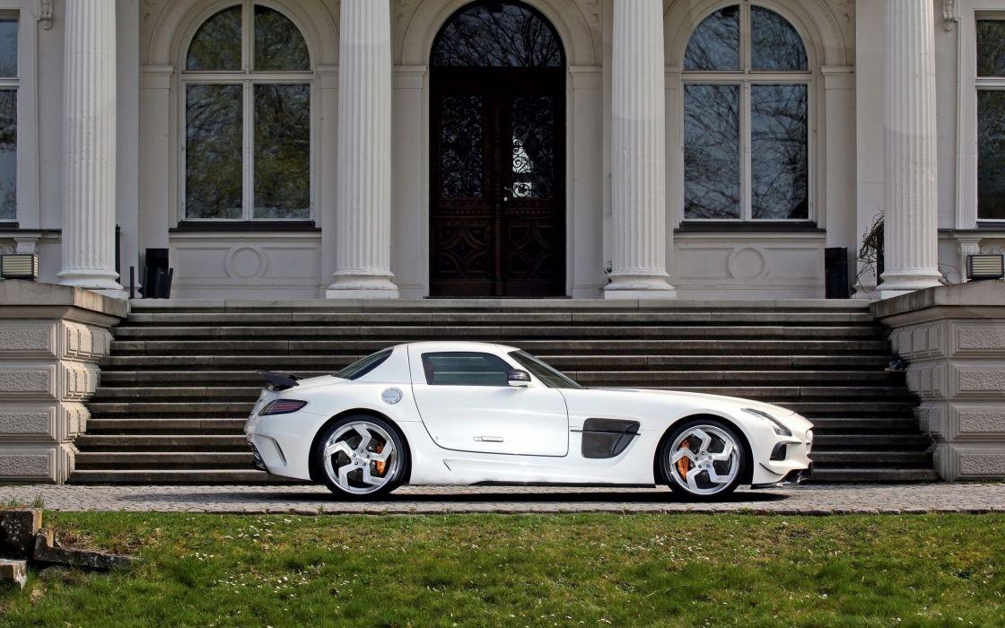 2014 Sga Aerodynamics Mercedes Benz Sls Amg Tunning Supercar Car