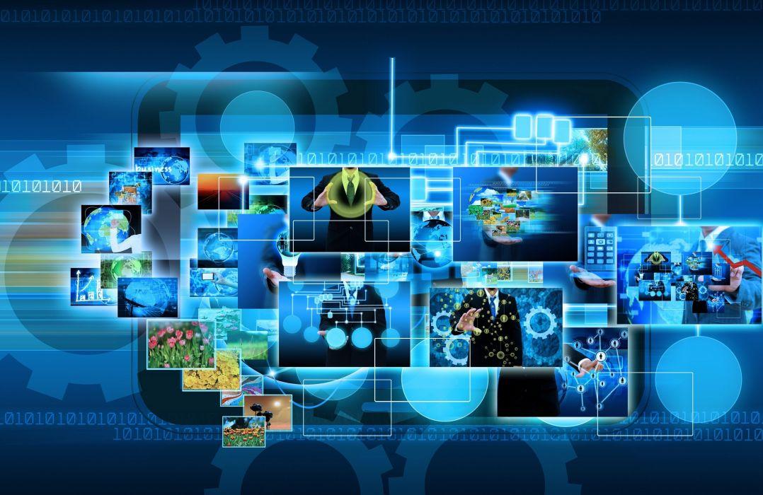 Technology internet business circuit computer f wallpaper