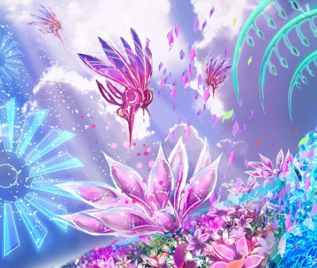 Child Of Eden Action Psychedelic Abstract Music Shooter Child Eden Fantasy