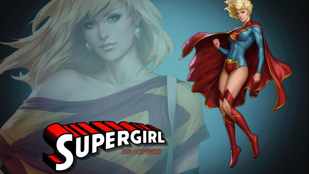 Girl Wallpaper Hd Supergirl Artgerm Wallpaper 2560x1440 396987