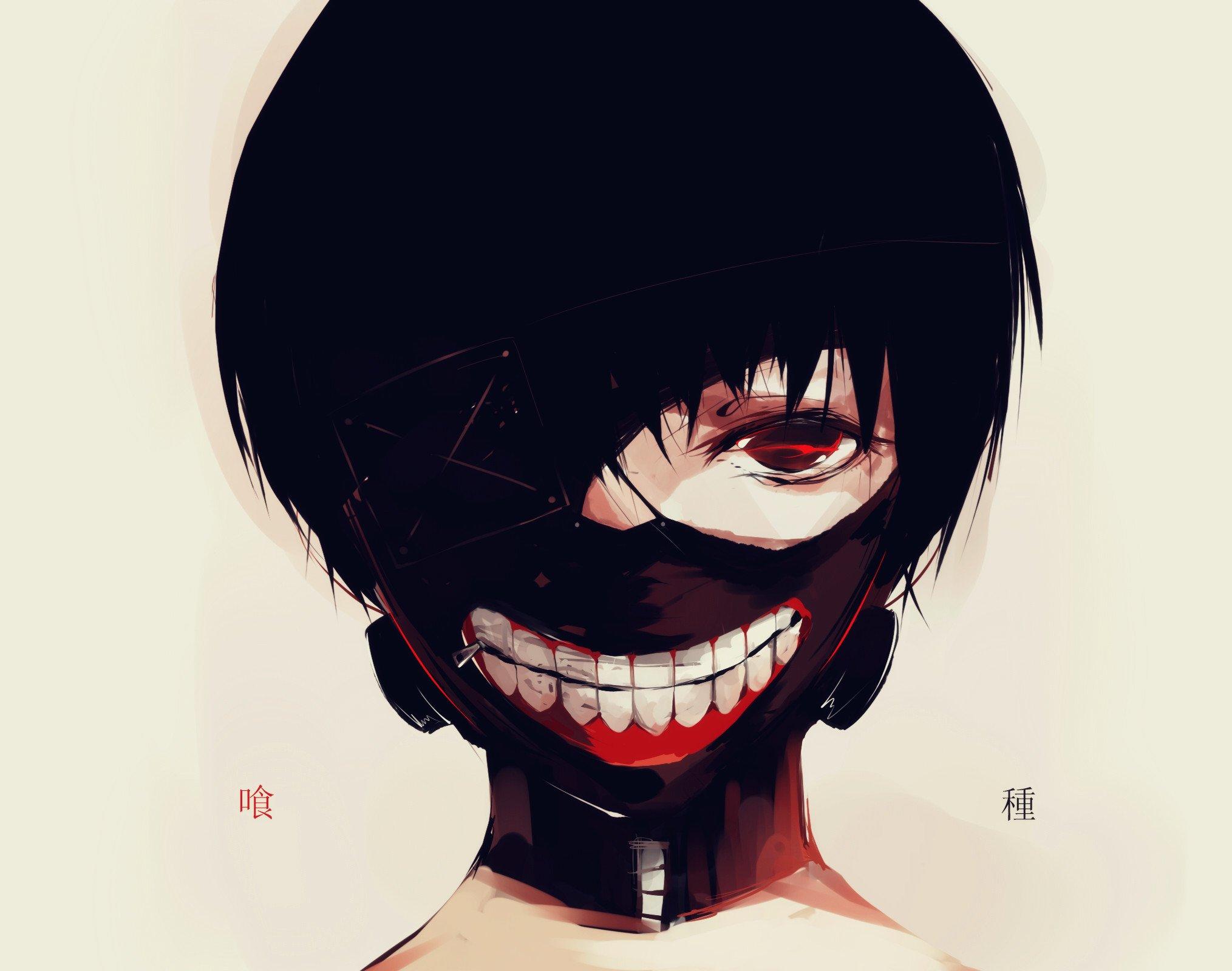 Tokyo ghoul kaneki ken mask hd 1920x1080 tokyo ghoul. Close jpeg artifacts kaneki ken mask tokyo ghoul youshima ...
