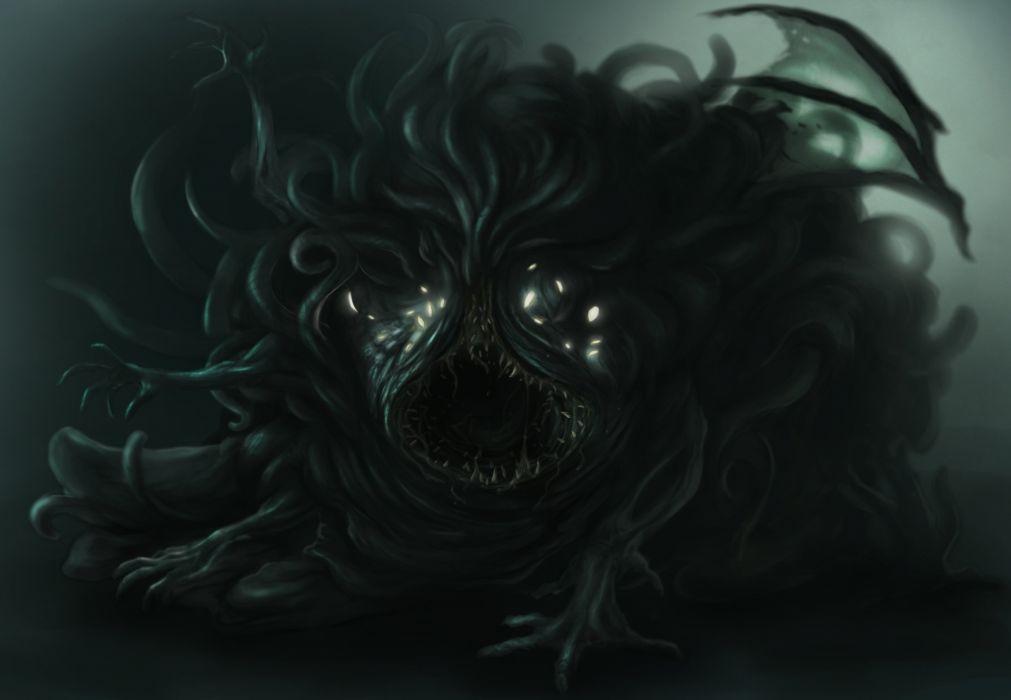 Beast 3d Wallpaper Monster Shoggoth Fantasy Wallpaper 2808x1944 399238