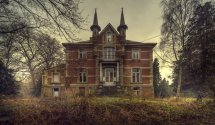 Old Abandoned Manor House