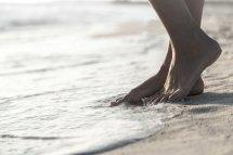 Beach Sand Feet