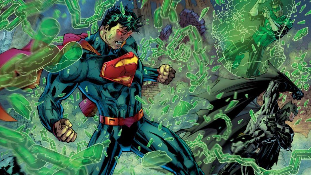 New 52 Justice League Superman Batman Wallpaper 2560x1440 446025