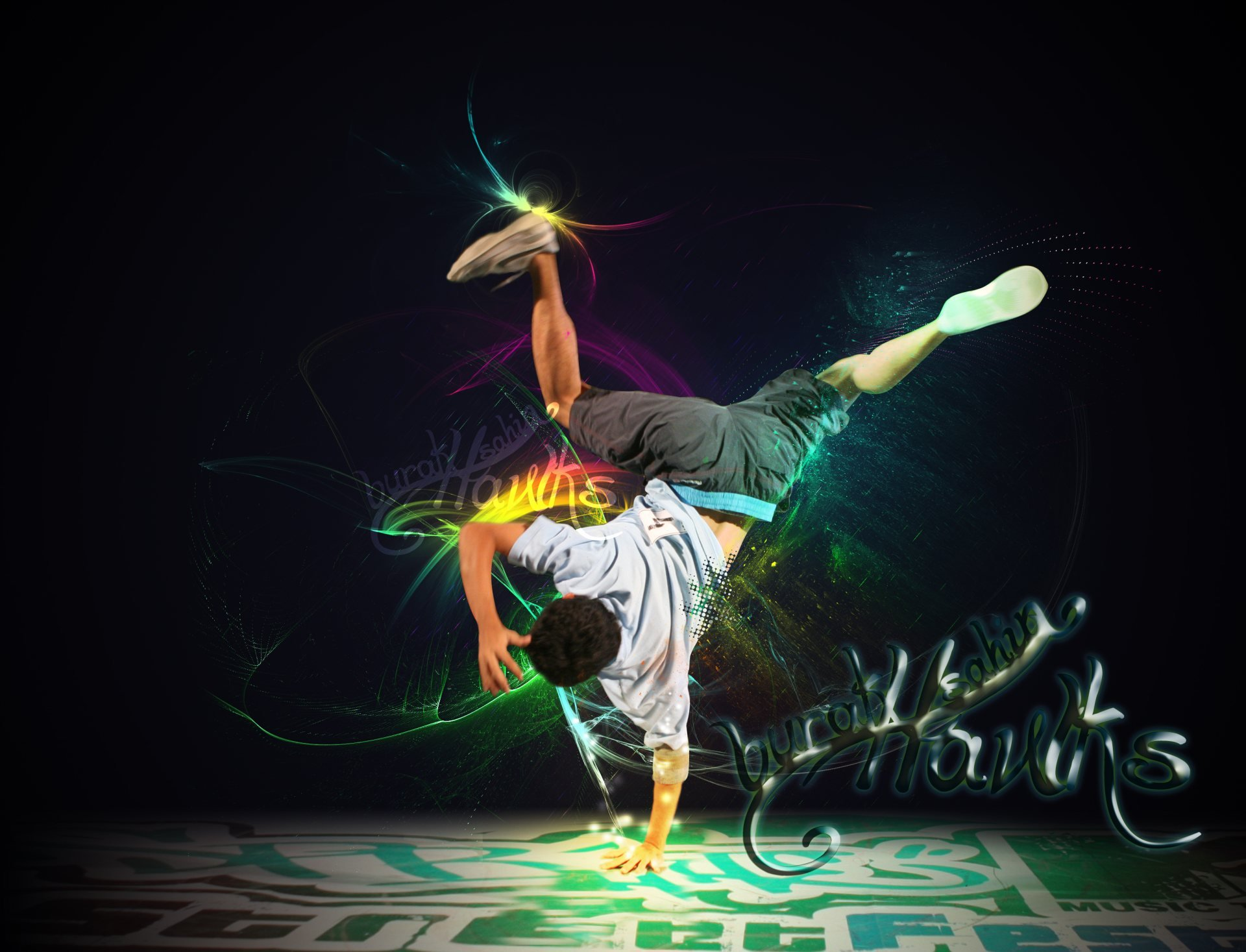 Hip Hop Break Dance Wallpaper