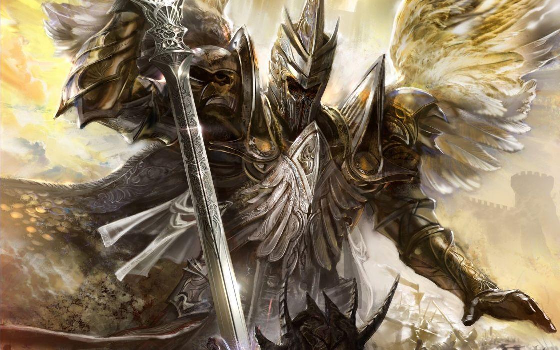 fantasy wings armor strike