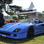 Ferrari F40 Supercars Cars Blue Italia Wallpaper 2048x1363 551605 Wallpaperup