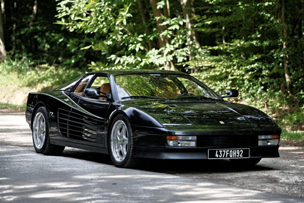Super Hd Wallpapers Ferrari Testarossa 512 Tr F512 M Supercars Cars Italia