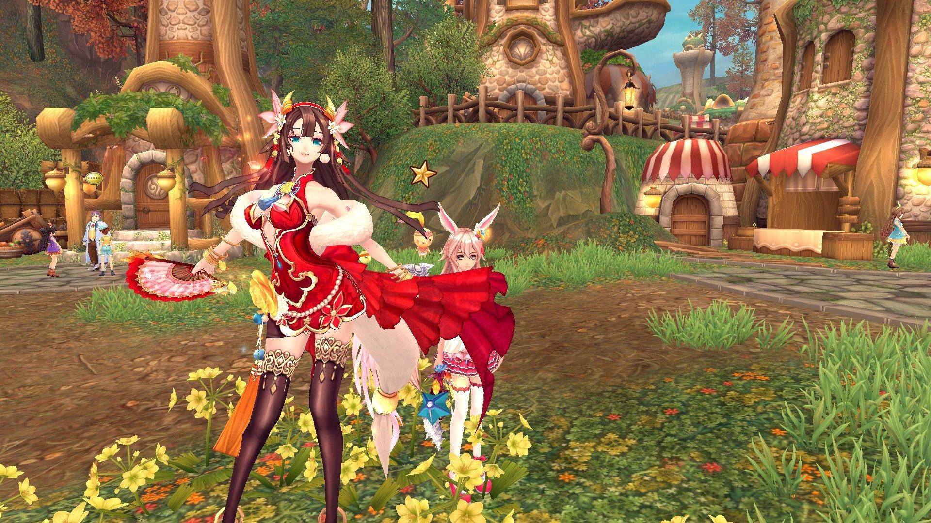 Fantasy Girl Wallpaper Aura Kingdom Anime Mmo Rpg Online Fantasy Adventure 1aking