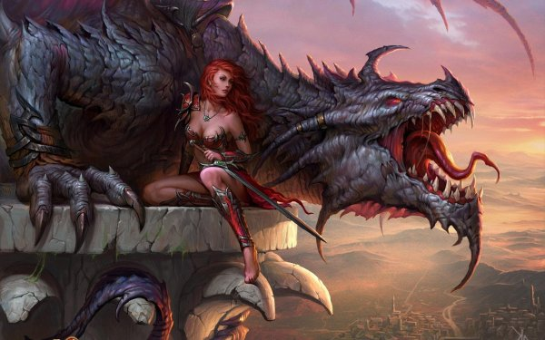 Dragons Fantasy Dragon Art Artwork Wallpaper 1920x1200 651325 Wallpaperup