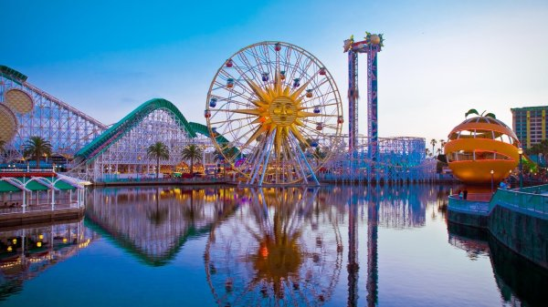 Disneyland Boardwalk California