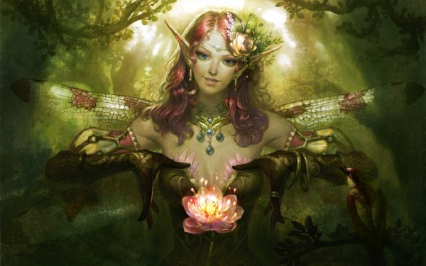 Fairy Fairies Fantasy Girl Art Artwork Wallpaper 1920x1200 670252 Wallpaperup