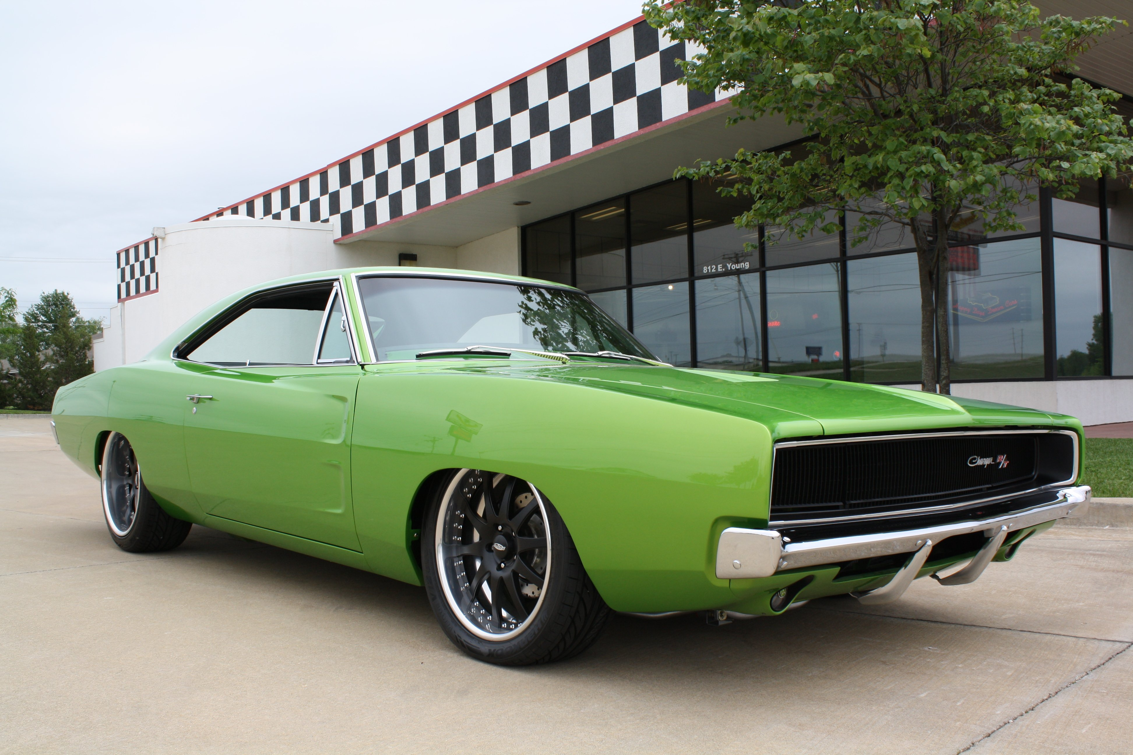 1968 Dodge Charger RT Streetrod Street Rod Hot Low Muscle