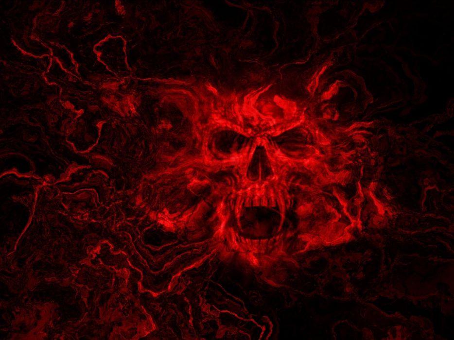 Dark Black Wallpaper Hd Dark Skull Evil Horror Skulls Art Artwork Skeleton D