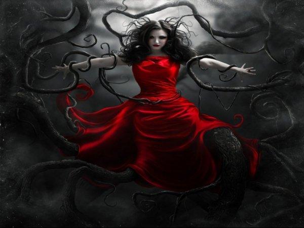 Dark Gothic Art Artwork Fantasy Wallpaper 1600x1200