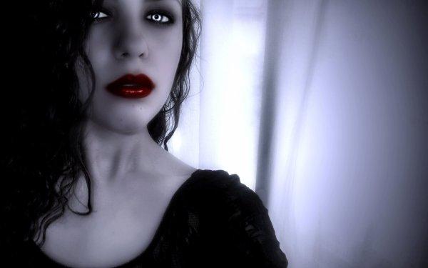 Fantasy Artwork Art Dark Vampire Gothic Girl Girls Horror