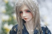 toys doll baby long hair male beautiful