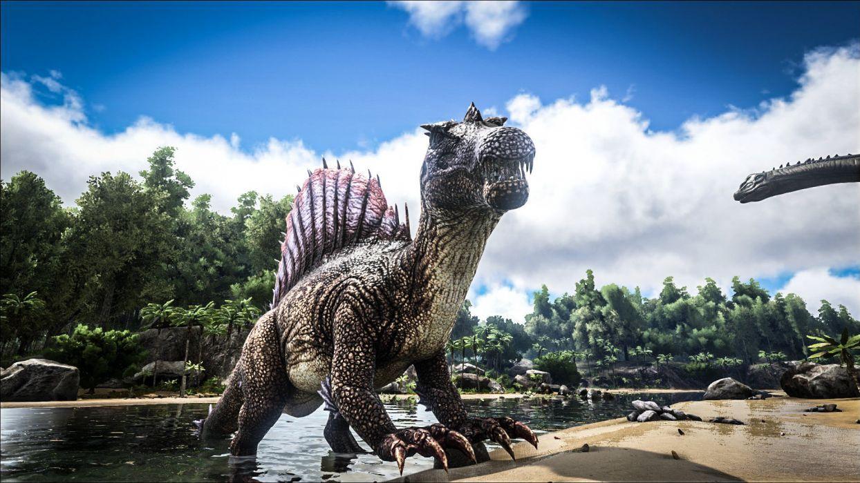 ark survival evolved dinosaur