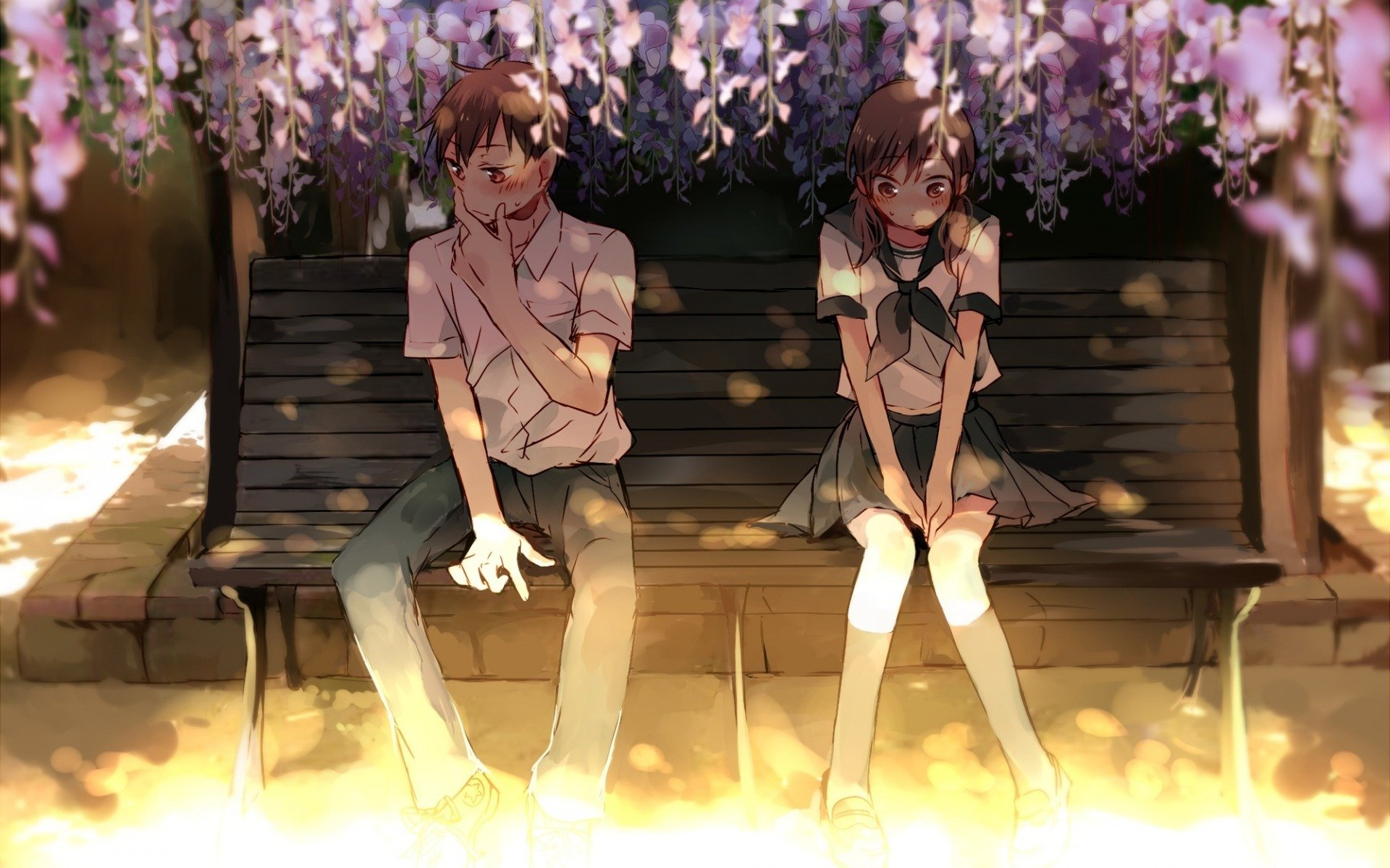 Tall Boy Short Girl Couple Wallpaper Cute Anime Girl Beautiful Short Hair Couple Love Boy
