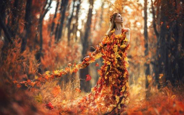 Fall Wallpaper Autumn Women