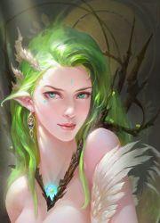 fantasy girl blue eyes hair long