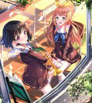 anime girl beautiful beauty mark