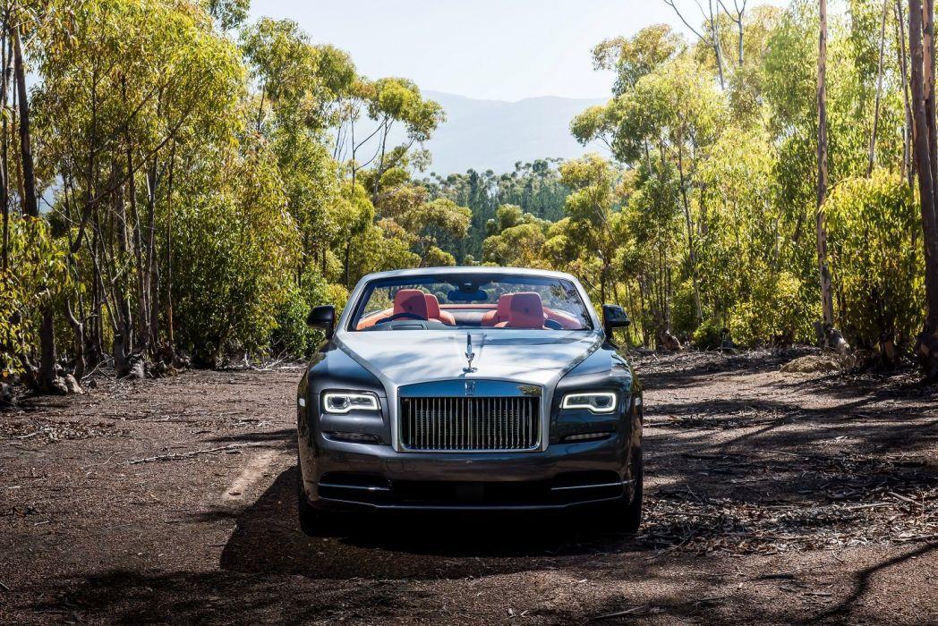 Rolls Royce Dawn Convertible Uk Spec Luxury Cars 2015 Wallpaper