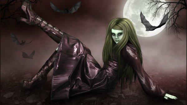 Scary Halloween Dark Art