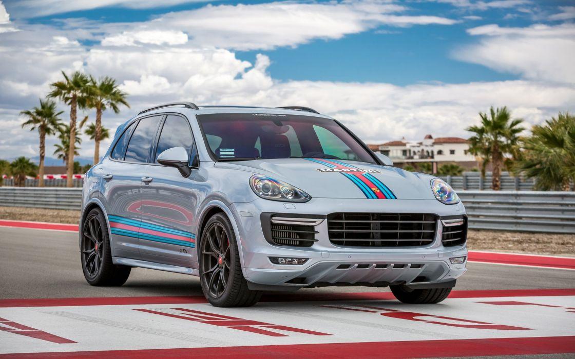 2016 Vorsteiner Porsche Cayenne V Ff 103 Tuning Gts Suv Wallpaper