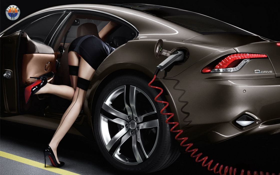 stockings stilettos girls cars