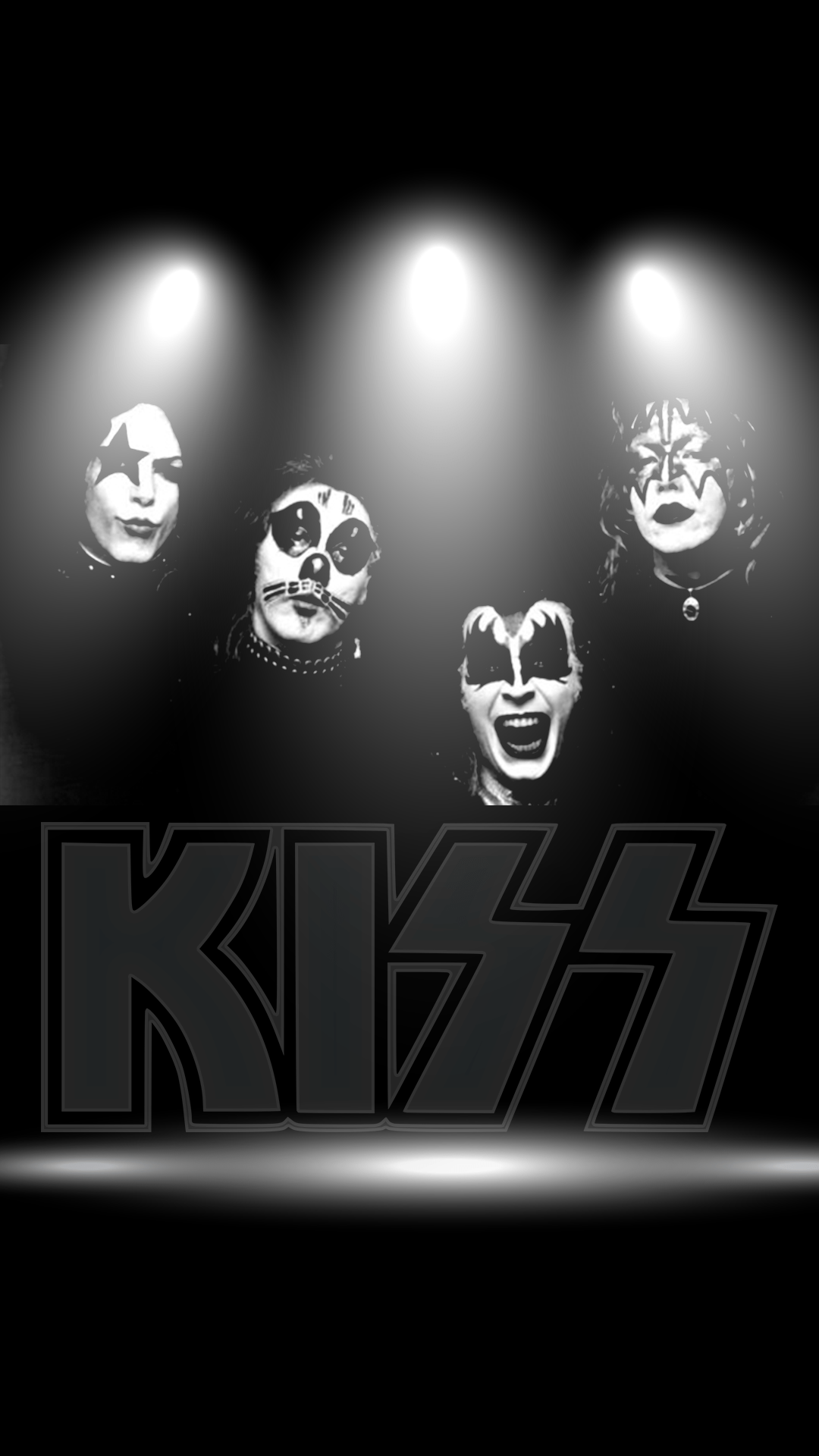 Super Hd Wallpapers Iphone X Download Our Hd Kiss Band Wallpaper For Android Phones 0150