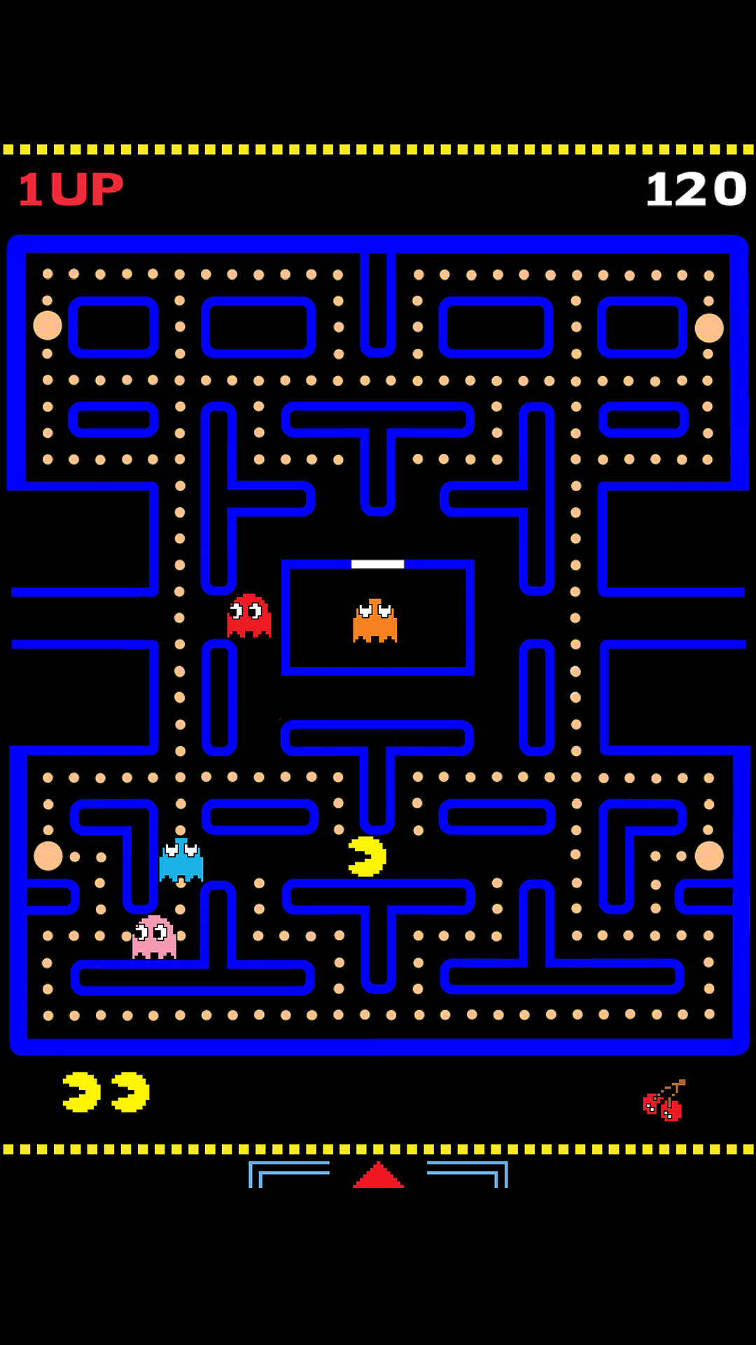 Pacman Wallpaper Iphone X Ultra Hd Pac Man Wallpaper For Your Mobile Phone 0197