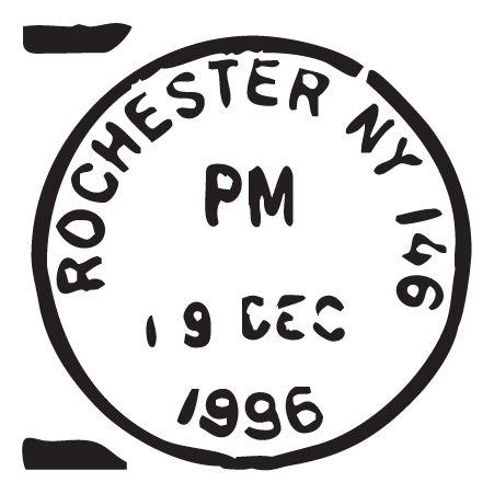 Rochester NY Postmark Wall Quotes™ Wall Art Decal