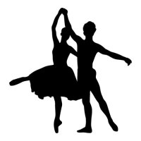 Couple Ballet Dancers Wall Quotes Wall Art Decal ...