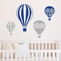 hot air balloon wall art vintage hot air balloon ...