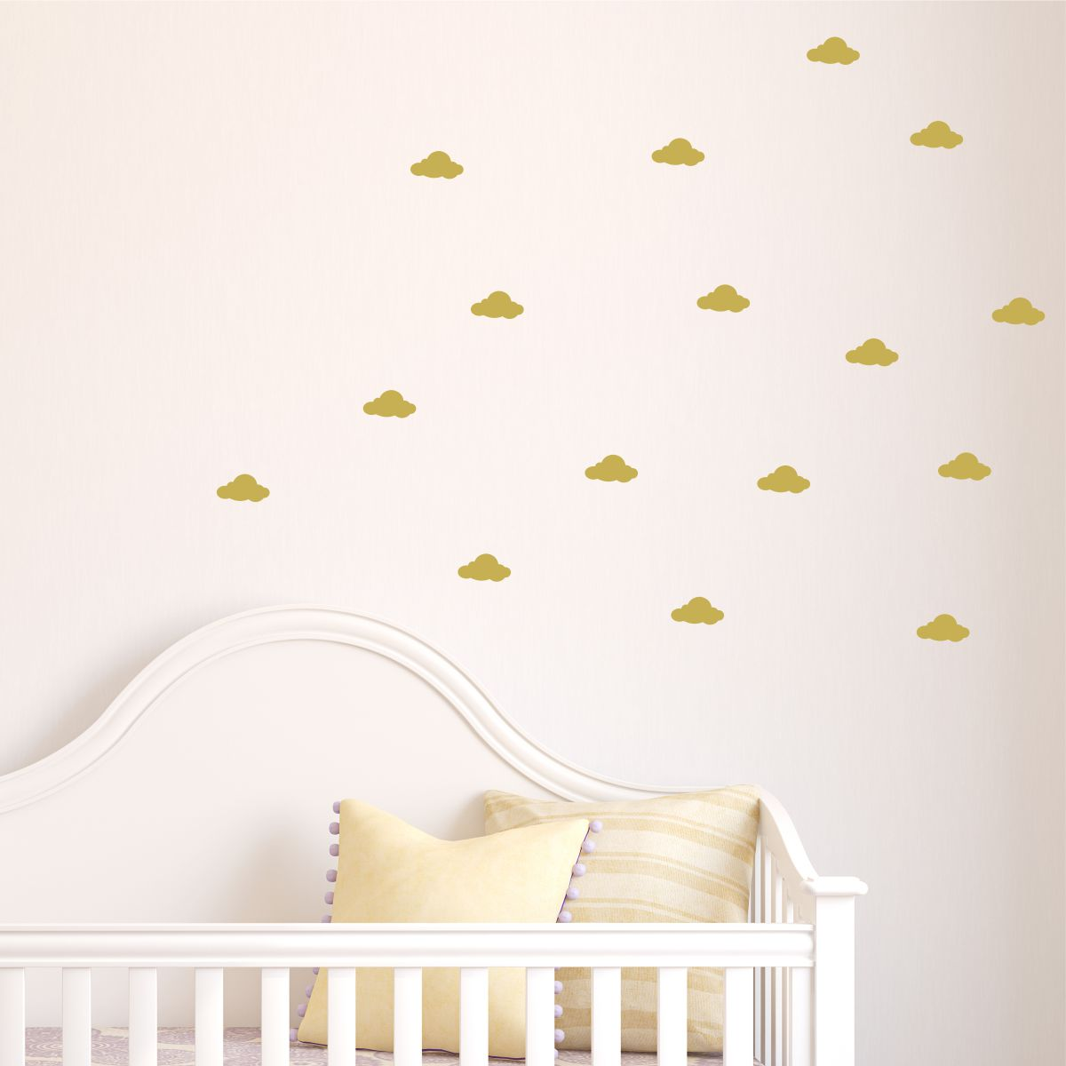 Clouds Wall Quotes Wall Art Decal Kit