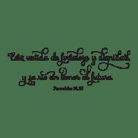 Fortaleza Y Dignidad Spanish Bible Verse Wall Quotes ...