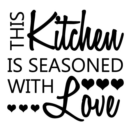 Download Seasoned with Love Honey Wall Quotes™ Decal   WallQuotes.com