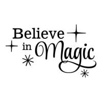 Believe in Magic Wall Quotes Decal | WallQuotes.com