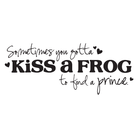Seasonal Fall Coffee Desktop Wallpaper Kiss A Frog To Find A Prince Wall Quotes Decal