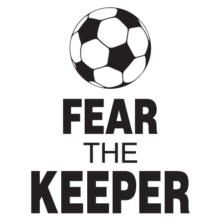 Fear The Keeper Wall Quotes Decal  WallQuotescom