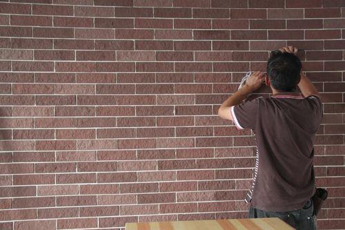 flexible wall tiles installation