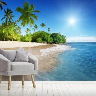 beach wallpaper tropical beach