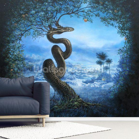 Tree Of The Garden Of Eden Wall Mural Wallsauce Uk